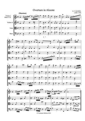 Handel: Alceste Overture