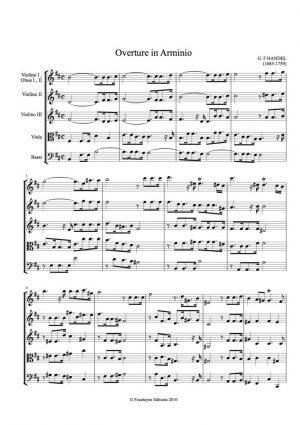 Handel: Arminio Overture