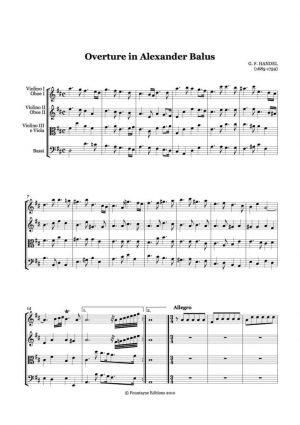 Handel: Alexander Balus