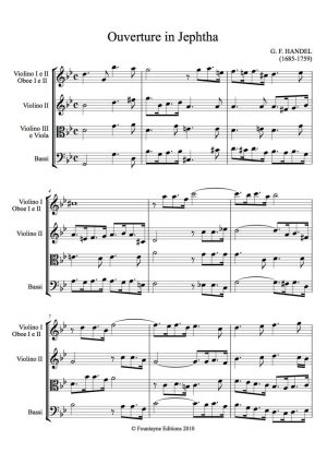 Handel: Jephtha Overture