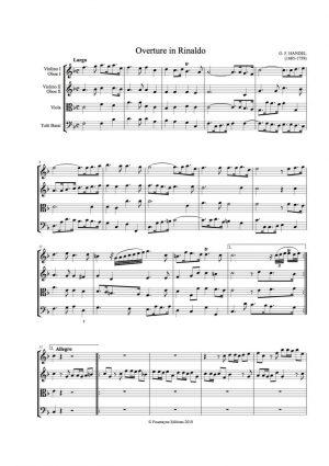Handel: Rinaldo Overture