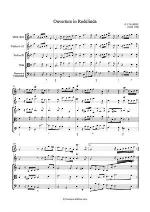 Handel: Rodelinda Overture