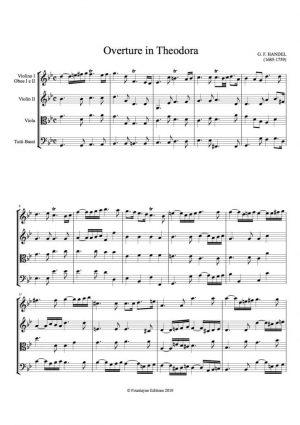 Handel: Theodora Overture