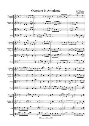 Handel: Ariodante Overture