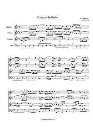 Handel: Esther Overture