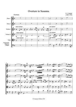 Handel: Susanna Overture