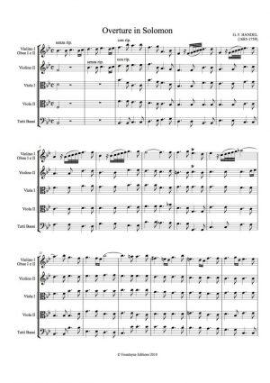 Handel: Solomon Overture