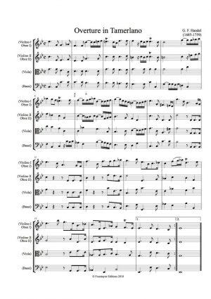 Handel: Tamerlano Overture