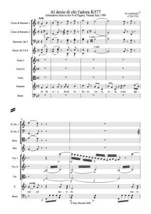 Mozart: Al desio chi ti t'adora K577 for soprano and orchestra
