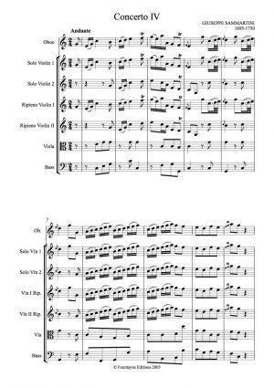 Sammartini, Giuseppe: Concerti Grossi Op. 8 nos. 4-6