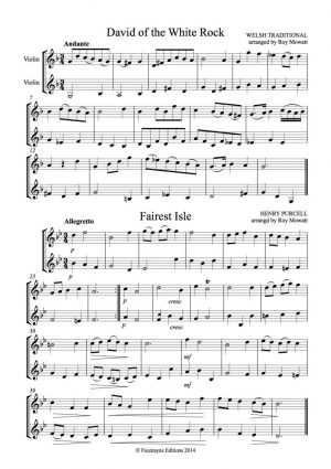 Fountayne Collection for 2 violins, volume 2 (1st – third positions)